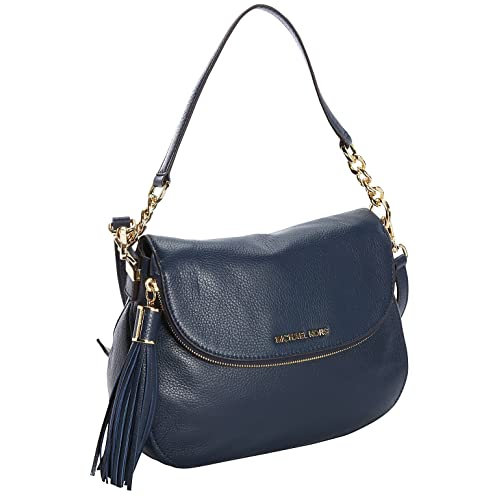 Michael Kors Medium Tssl Conv Shkdr Bedford in Navy