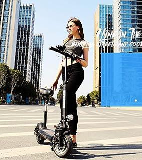XPZ00 Scooter eléctrico para Adultos, Mini Plegable portátil con Asiento Plegable 10 Pulgadas 160kg Carga 40km/h para Trabajar Viaje en el Centro de Viajes