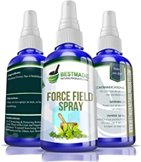 Force Field Spray Flower Essence a Cleansing Protecting Remedy to Deal with Crisis and Negativity, Protect Yourself from B...