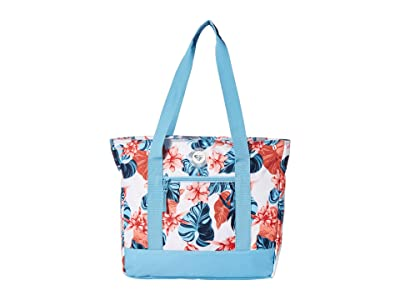 Roxy Bird Alert Cooler Bag Tote (Bright White Standard) Tote Handbags