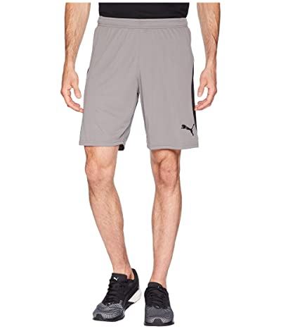 PUMA Liga Shorts (Steel Gray/Puma Black) Men