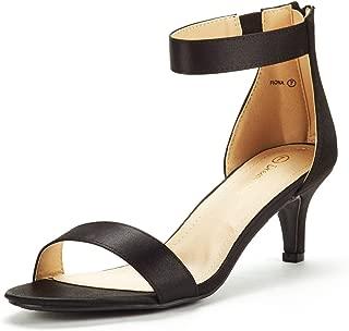 Women's Fiona Fashion Stilettos Open Toe Pump Heeled Sandals