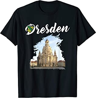 Frauenkirche Stadt Dresden Sachsen an der Elbflorenz T-Shirt
