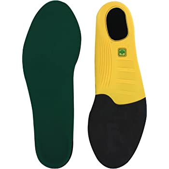 Spenco Polysorb Cross Trainer Athletic Cushioning Arch Support Shoe Insoles, Women's 11-12.5/Men's 10-11.5
