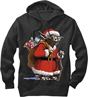 Star Wars Men's Christmas Santa Yoda Hoodie