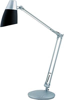 Alba fluomoon N lámpara de escritorio negro