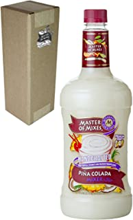 Master of Mixes Pina Colada Drink Mix, Ready To Use, 1.75 Liter Bottle (59.2 Fl Oz), Individually Boxed