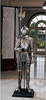 XoticBrands Classic Life Size 7ft 16th-Century Italian Armor Sculpture Statue Figurine