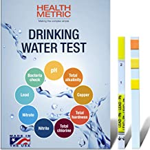 Drinking Water Test Kit for Home Tap and Well Water – Easy to Use Testing Strips..