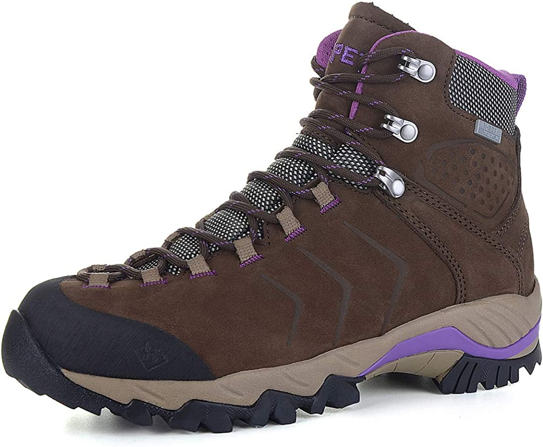 XPETI Women's YELLOWSTONE Water-resistant Hiking メイルオーダー Boots 出荷 Leather