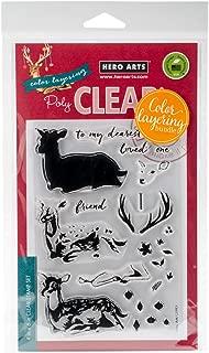 Hero Arts Clear Stamp & Die Combo-Deer