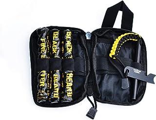 Black Beard Captain's Loot Fire Starter Kit with Ferro Rod & Fire Starter Rope   Fast Lighting Fire Starter Kit for Campfi...