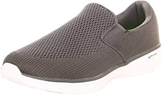 Spunk Jacquard Fabric Slip-on Walking Shoe