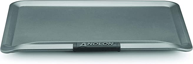 Anolon Advanced Nonstick Bakeware 14-Inch x 16-Inch Cookie Sheet, Gray with Silicone Grips