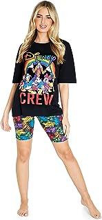 Disney Ladies Pyjamas Set, Mickey Mouse & Minnie Pyjamas for Women XS to XXL