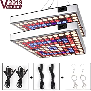 Grow Light for Indoor Plants,Sunlike Full Spectrum Plant Light with IR & UV LED for Micro Greens/Clones/Succulents,Multiple Panels Can Be Connected