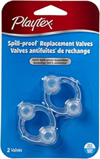 Playtex Spill-Proof Cup Replacement Valves - Two packs of two