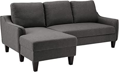 Signature Design By Ashley Jarreau Contemporary Upholstered Sofa Chaise Sleeper Gray Furniture Decor