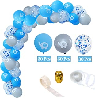 Best blue baby elephant baby shower decorations Reviews