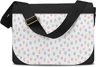 Kawaii Kitty Icecreams Messenger Bag - One Size Messenger Bag