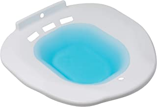 Soothic Sitz Bath for Over The Toilet Postpartum Care, Hemorrhoid Treatment That Soothes, Relieves Inflammation, Cleanses Vagina - Anal Region. Fits Elongated, Commode, Oval, Oblong Toilets.