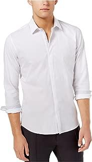 Ryan Seacrest Distinction Men's Hidden Placket Button Up Shirt
