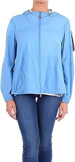 PEUTEREY Luxury Fashion Womens PED318701191487294 Light Blue Outerwear Jacket   Season Outlet