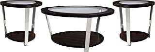 Standard Furniture Triad Accent Table 3-Pack Brown