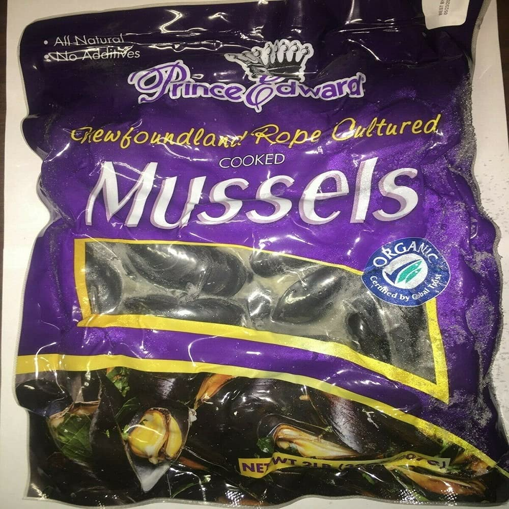 6 Excellent lbs Prince sale Edward Island Mussels Blue