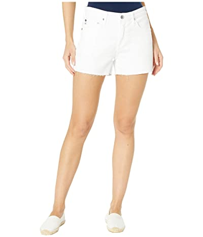 AG Adriano Goldschmied Hailey Cutoffs Shorts in 1 Year Optic White (1 Year Optic White) Women