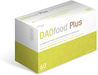 DAOfood - Tratamiento del déficit de DAO - 60 Cápsulas con Pellets Gastrorresistentes