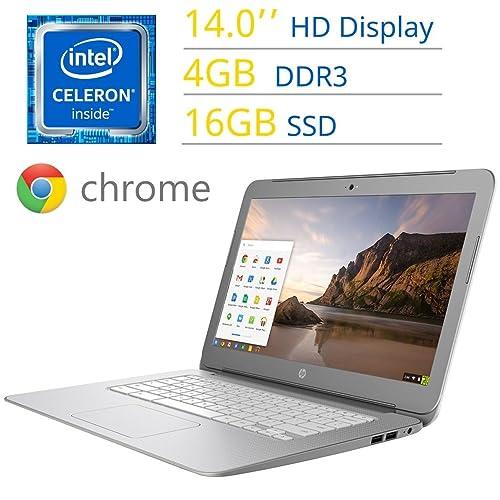 2017 HP 14 Premium Chromebook HD SVA (1366 x 768) WLED Display