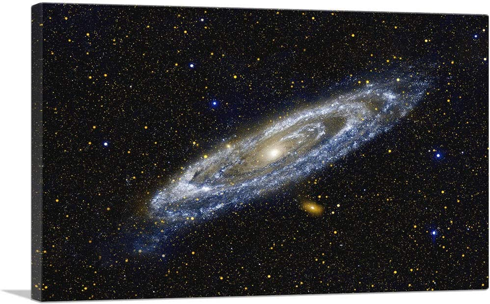ARTCANVAS Andromeda Spiral Galaxy in Japan's largest assortment Easy-to-use Hubble Canva Blue Telescope