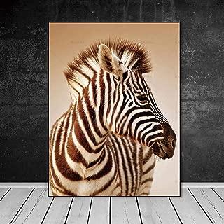 Impresiones Sobre Lienzo,Pintura En Tela Animal Print Cebra Nordic Abstracto Cuadros De Pared Para El Salón Decoración De Arte Fotografía Sin Marco De Salón Para Dormitorio Decoraciones Hogare