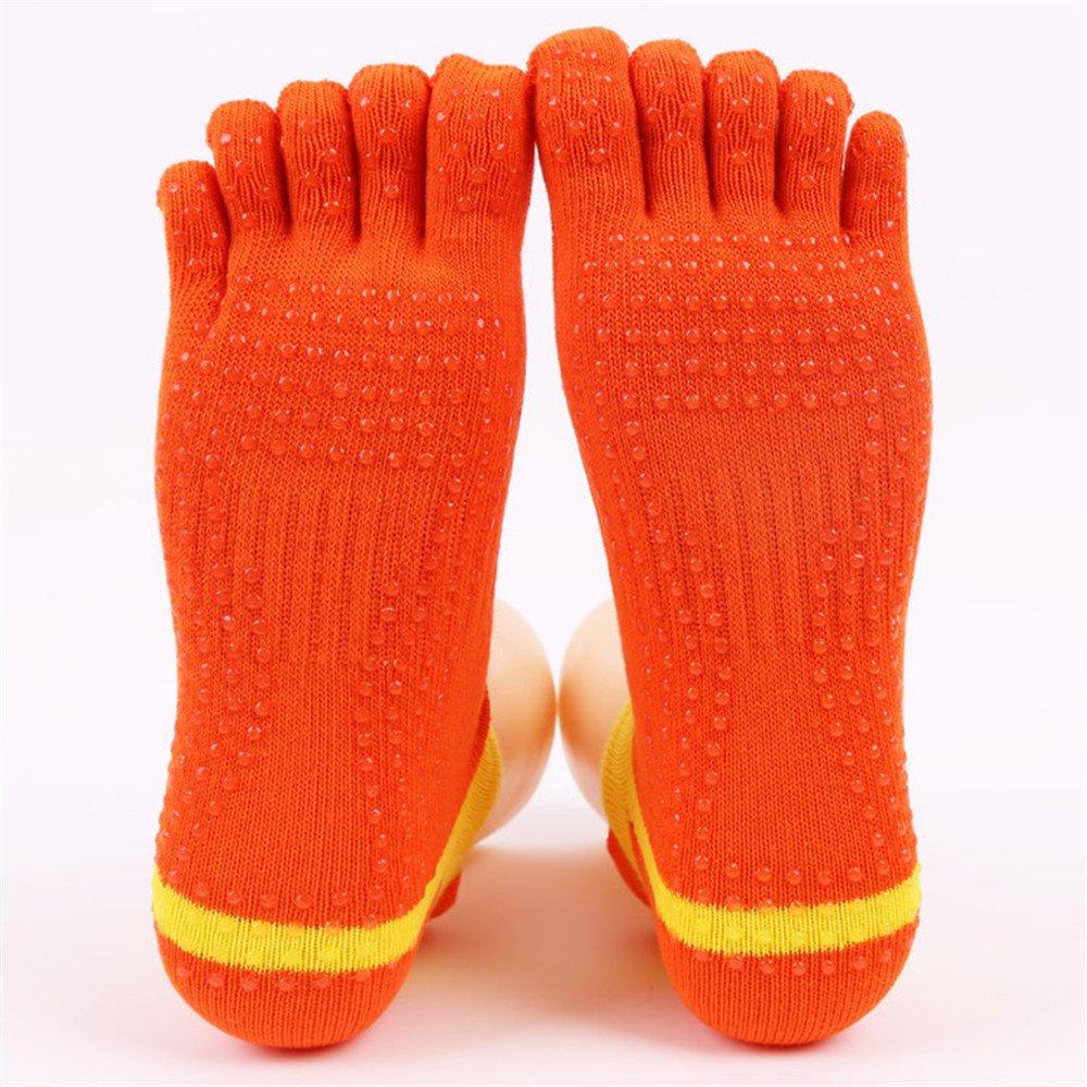 Lfives-sp Calcetines de Yoga Calcetines de Yoga de Cinco Dedos de algodón japonés y Coreano Deportes Calcetines Cortos adecuados para Mujeres para Pilates, Pure Barre, Ballet, Baile, Bikram Fi: Amazon.es: Hogar