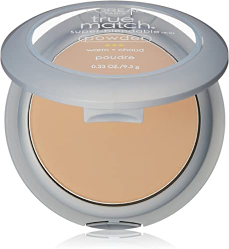 L'Oreal Paris True Match Super-Blendable Powder, Natural Beige, 0.33 oz.