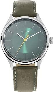 Titan Neo Economy Analog White Dial Men's Watch-1802SL04