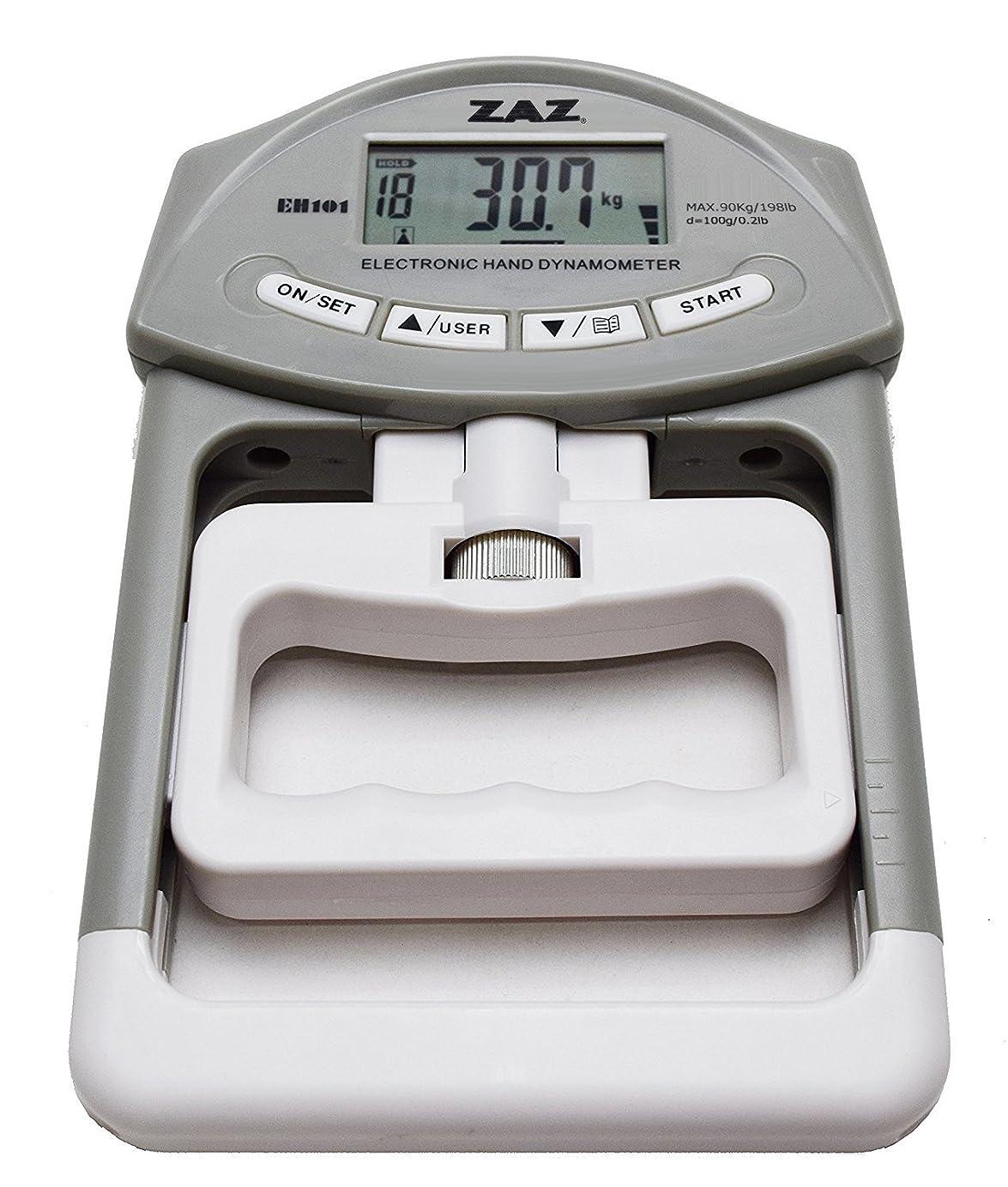 ボンドドナウ川用心するZAZ デジタル握力計 電池付