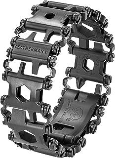 LEATHERMAN - Tread Bracelet, The Original Travel Friendly Wearable Multitool, Black
