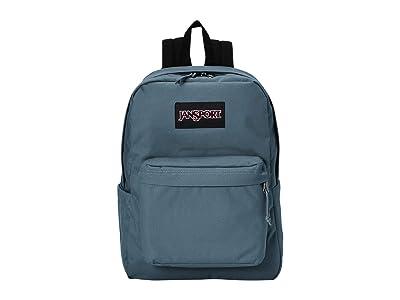 JanSport Superbreak(r) Plus (Dark Slate) Backpack Bags