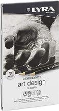 Lyra Rembrandt Art Design Pencils Box of 12 Grade 2H