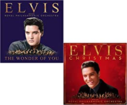 The Wonder Of You - Christmas - Elvis Presley and The Royal Philharmonic Orchestra 2 CD Album Bundling