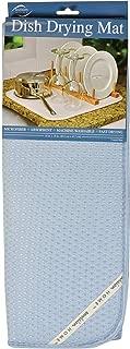 Kitchen Basics Dish Drying Mat (Large, Coastal Blue)
