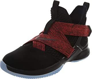 Nike Lebron Soldier XII (GS) Boys Basketball-Shoes AA1352-003_6.5Y - Black/Black