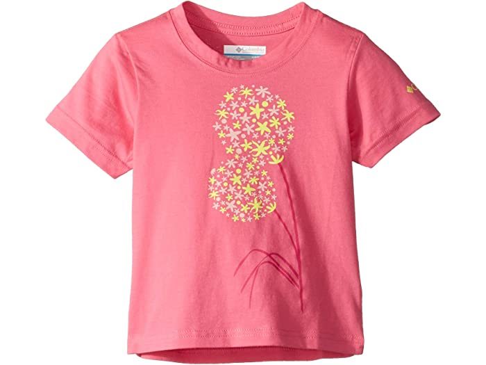 Columbia Kids Toddler Girls PFG Reel Adventure Short Sleeve Shirt