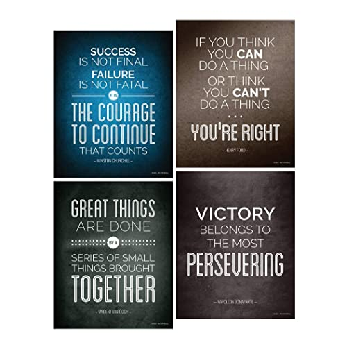 Inspirational Success Quotes Wall Decor Amazon