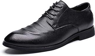 [Mingtudz] ビジネスシューズ 外羽根 紳士靴 革靴 本革 メンズ 通勤 通気性抜群 防滑 日常着用 大きいサイズ ブラック ブラウン 24cm-29cm