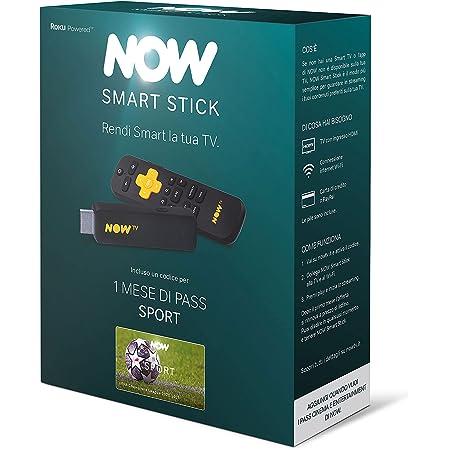 NOW Smart Stick con il primo mese di Sport incluso | Chiavetta streaming | TV