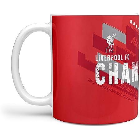 Liverpool FC Tasse Metallic Skyline Rouge