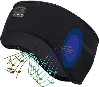 Bluetooth Sleep Headphones, HEYMIX Wireless Sports Headband Headphones with Ultra-Thin HD Stereo Speakers (Perfect for Wor...